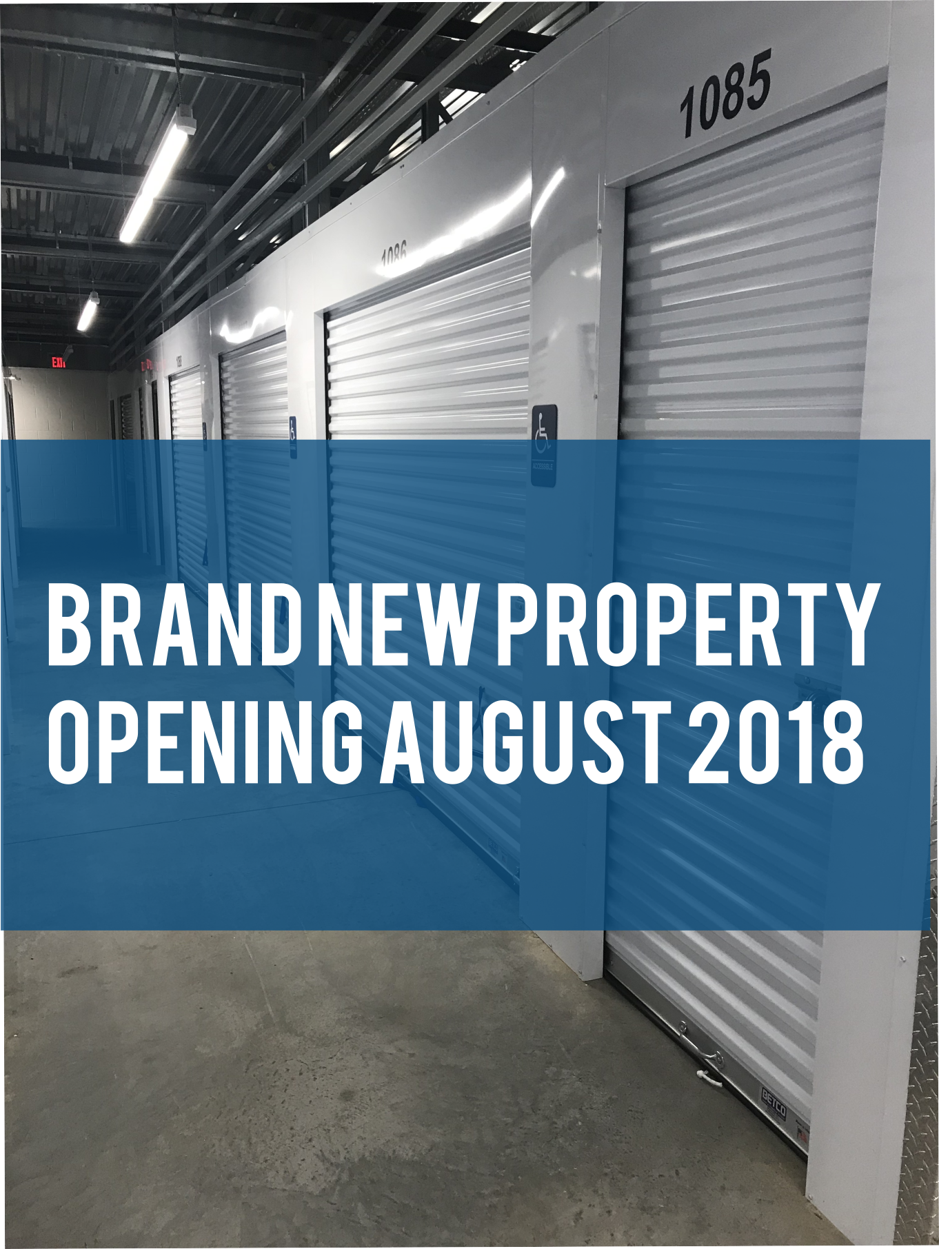 Opening August 2018