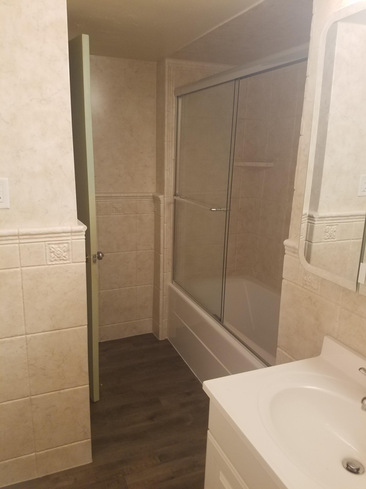 Full Bathroom Remodel After