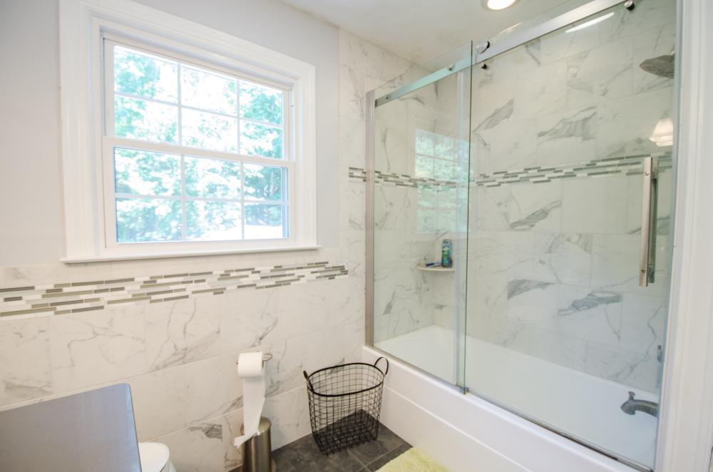 DuraBath Natural Stone Shower- After