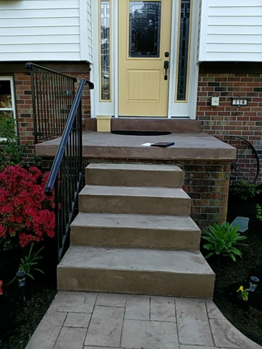 Railing Install in Lititz