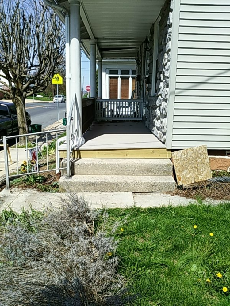 Porch Floor In Ephrata