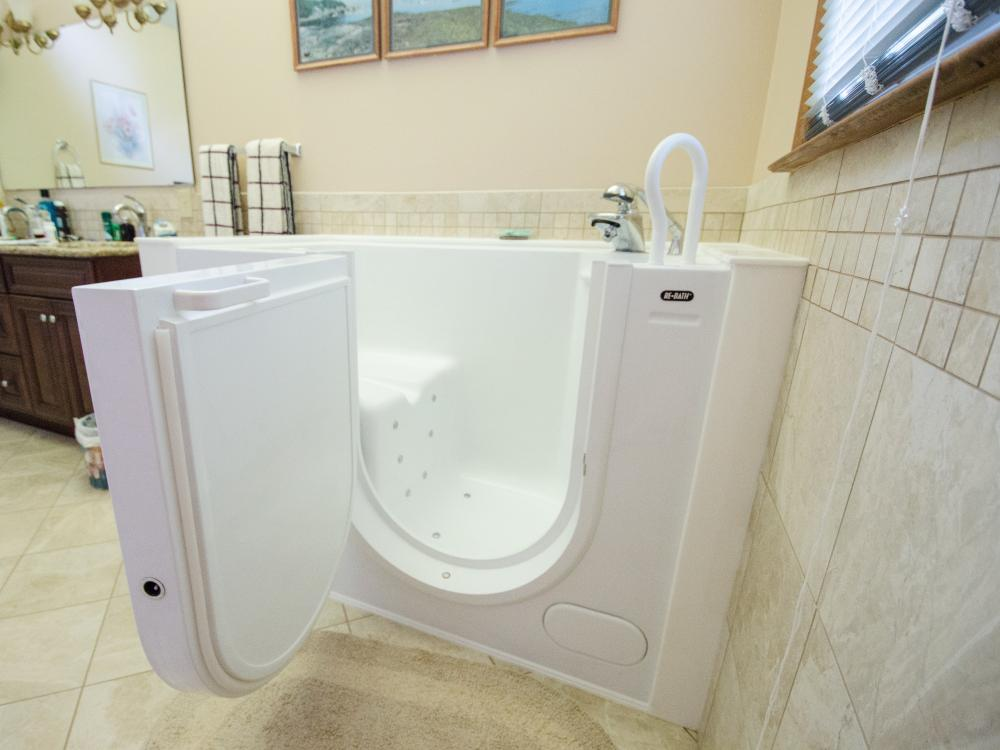 Walk-in Tub - After