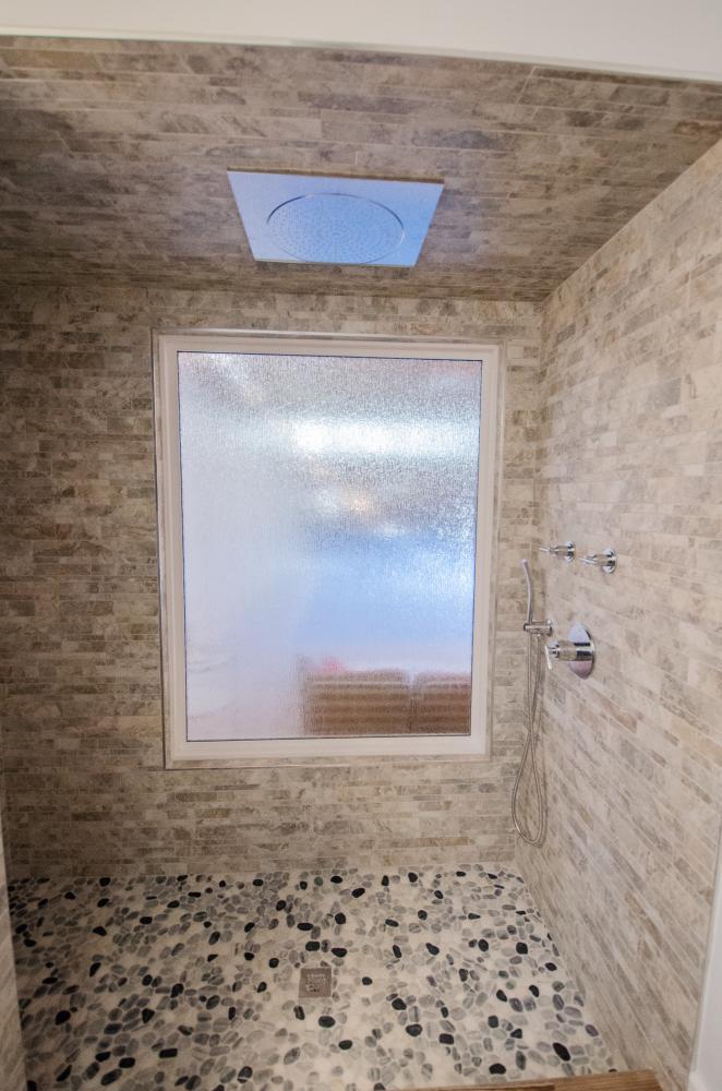 Walk-in Shower- After