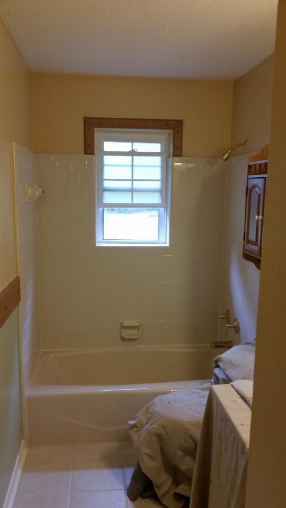 Before ReBath bathroom remodel bay county panama city tub to shower