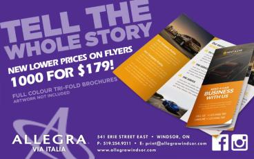 New LOWER Prices on Flyers