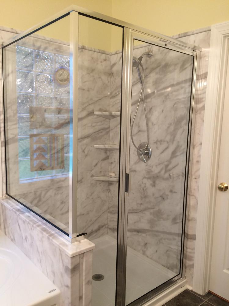 Shower update in Richmond, VA