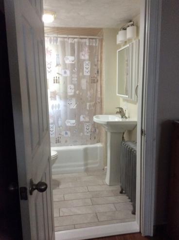 After Photo of Bathroom Update in Duryea