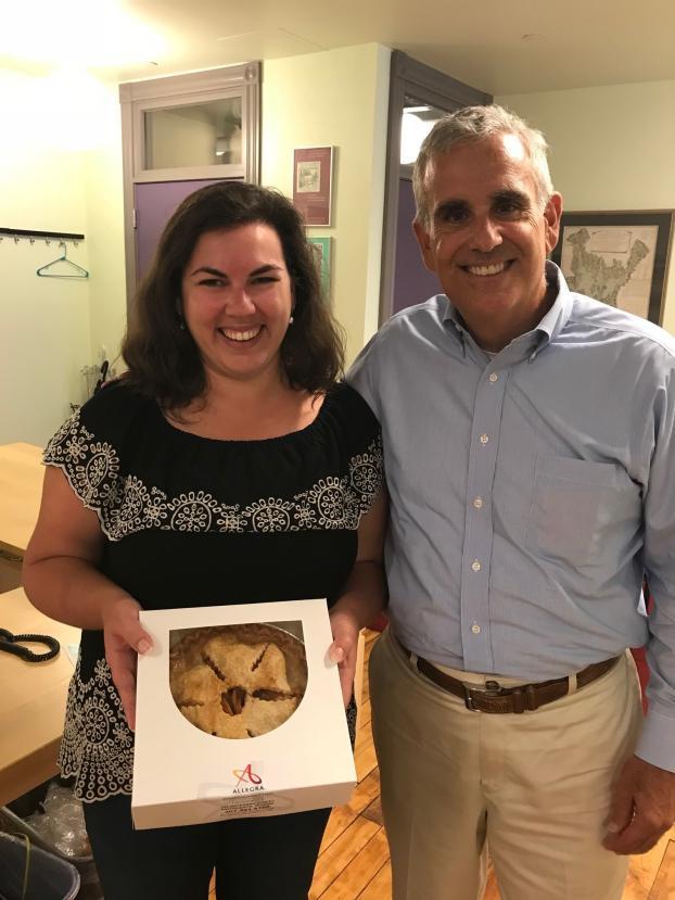 Pie in July 2018