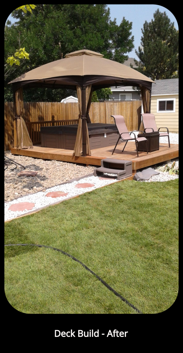 Deck Build - After- Broomfield, CO