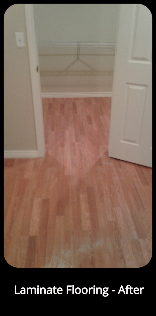 Laminate Flooring Install - After- Highlands Ranch, CO