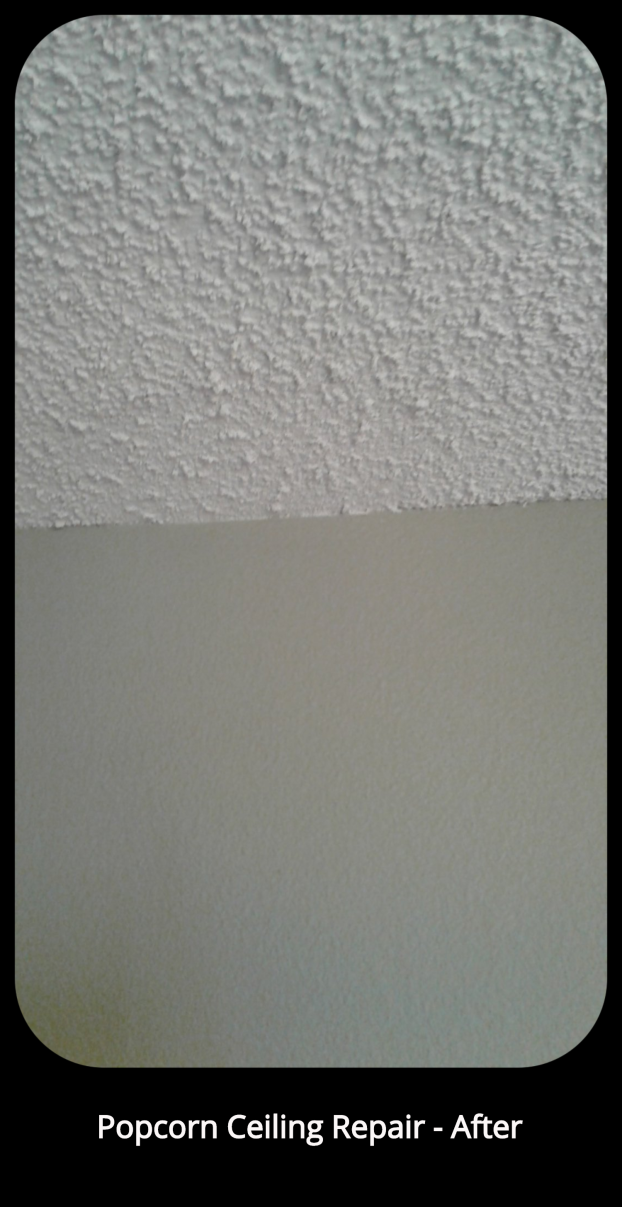 Popcorn Ceiling Repair - After - Lakewood, CO