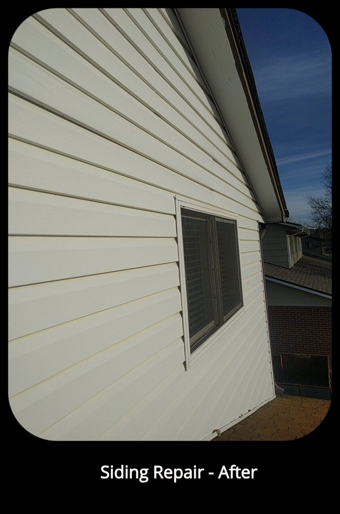 Siding Repair - After - Arvada, CO