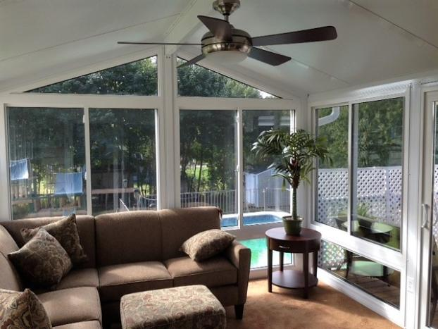 Cathedral Hybrid Sunroom with ConservaGlass Windows