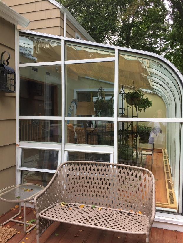 Sunroom Repair in Fairfield, CT - Before