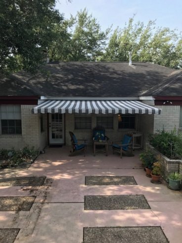 Cantilever Awning