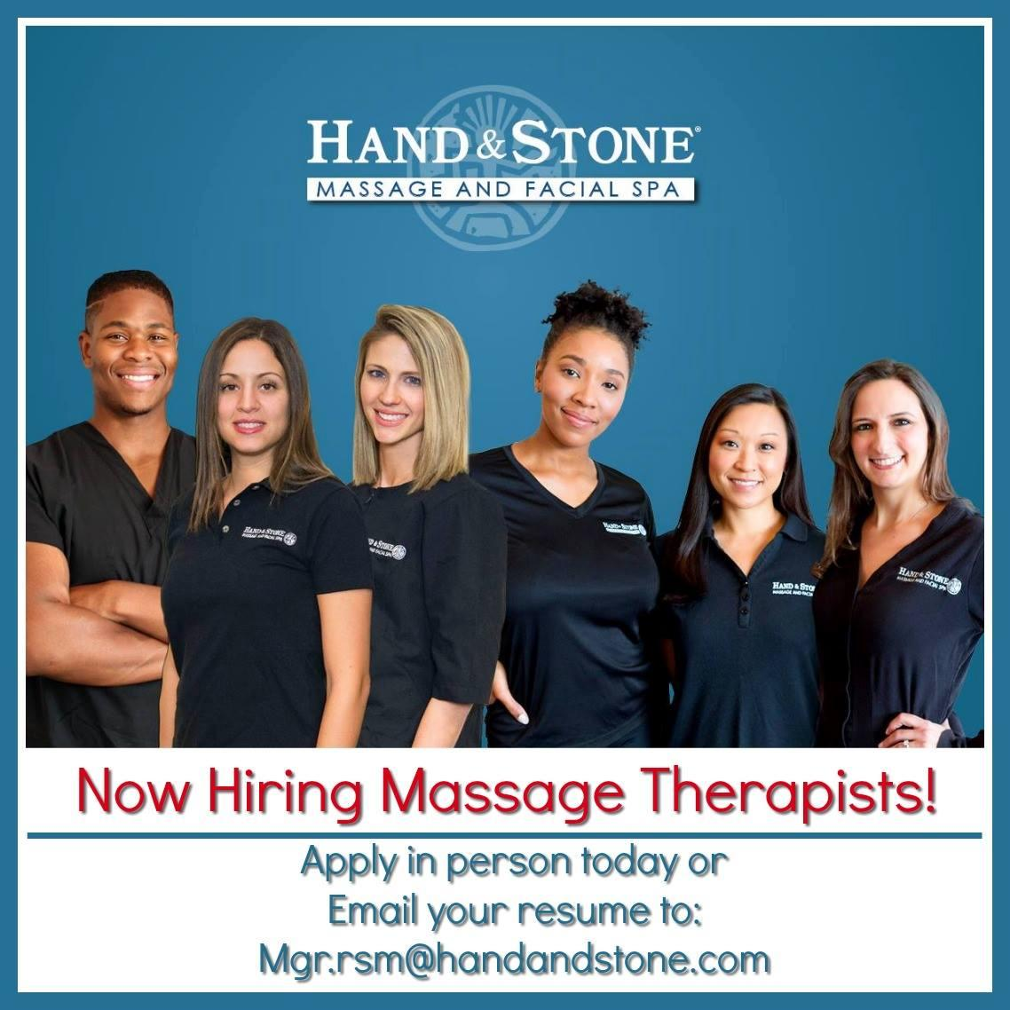 Now Hiring Massage Therapist