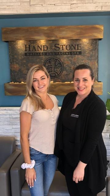 Brand Ambassador Lindsay Arnold stops by for a Glow + Go facial