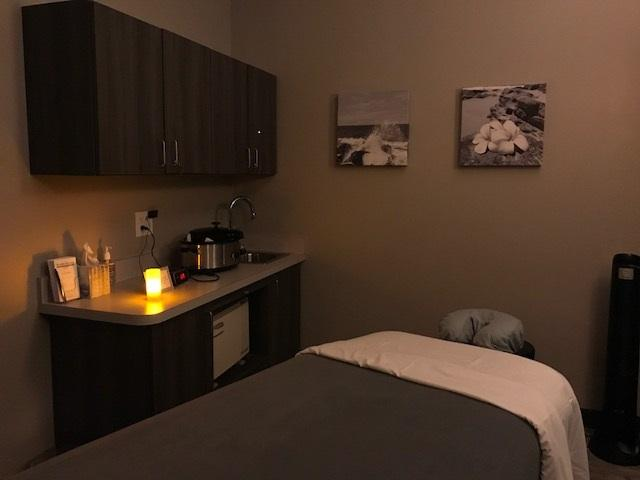 Come relax in one of our treatment rooms