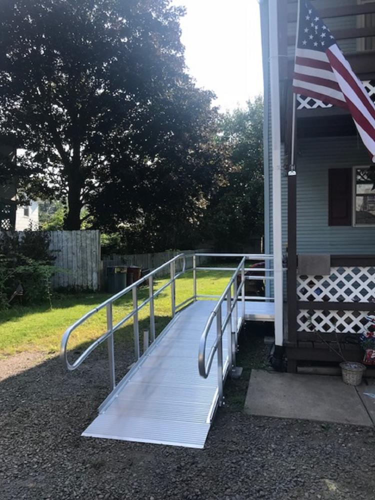 Wheelchair Ramp Installation in Kingston
