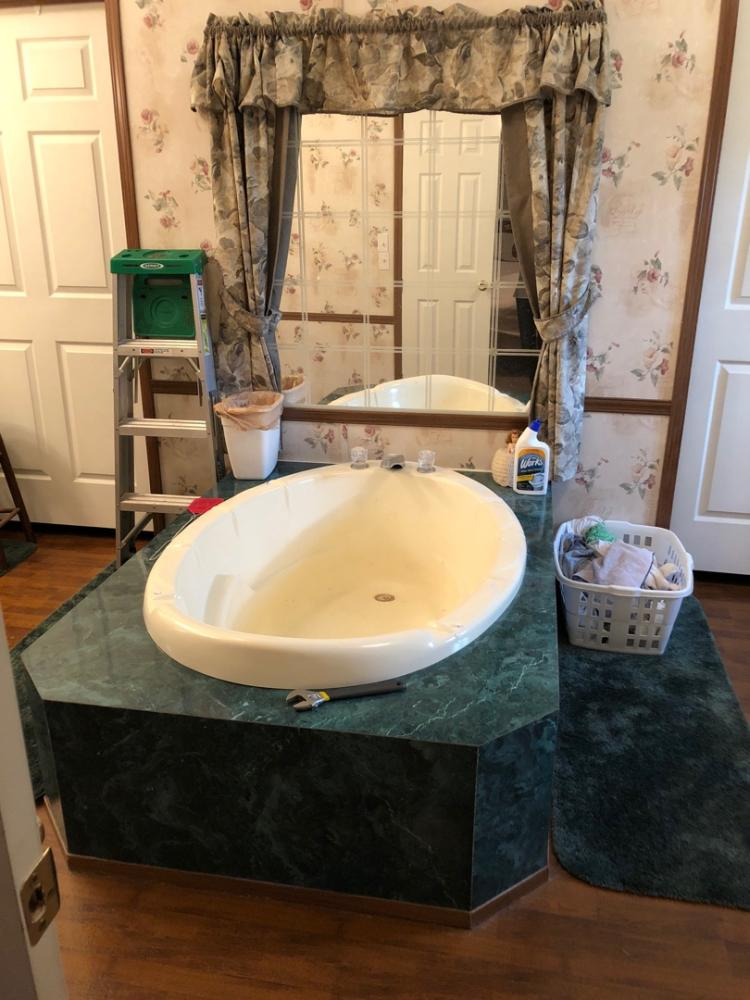 Garden Tub to walk in tub