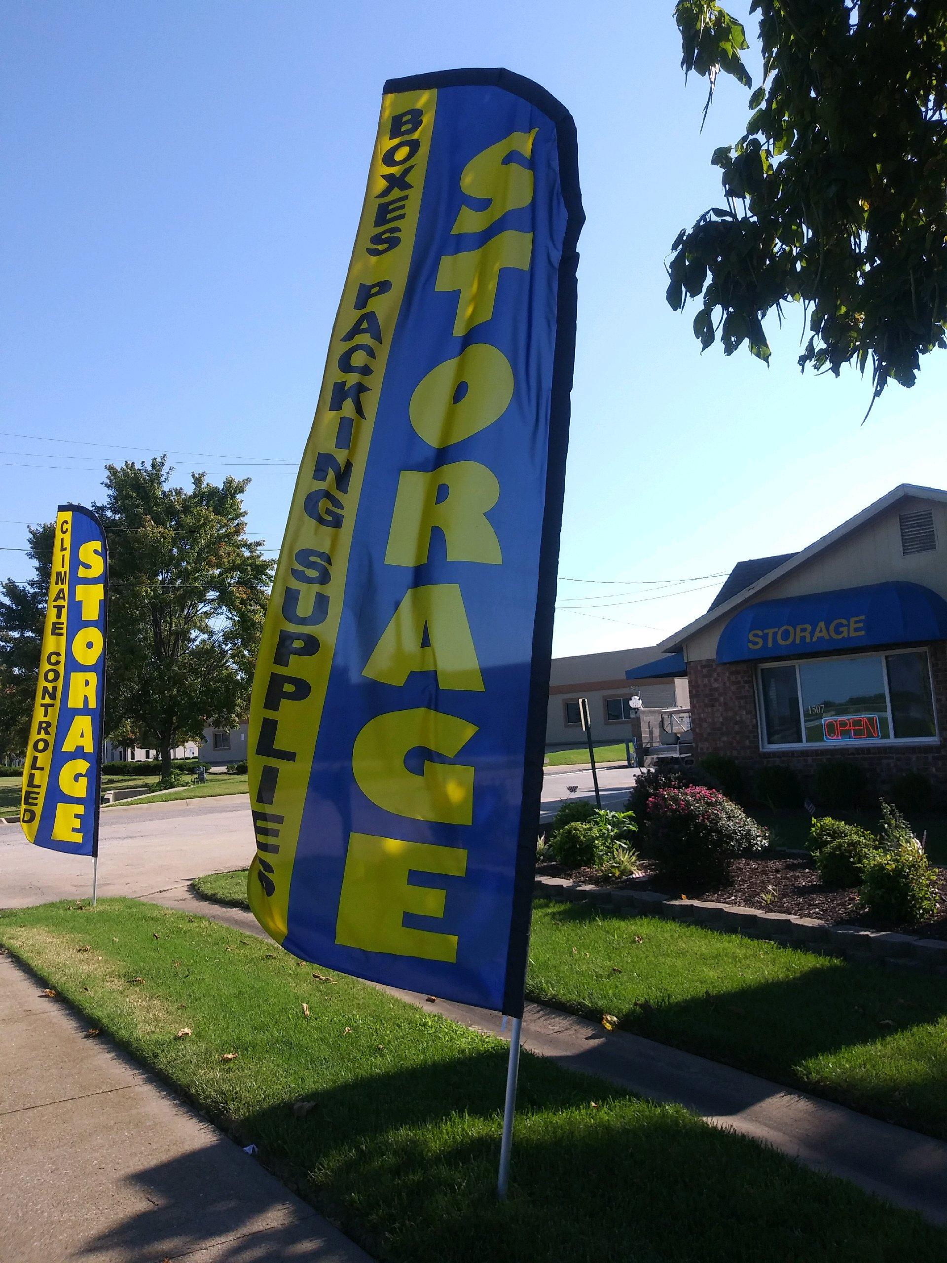 It's a great day at Springdale Self Storage!