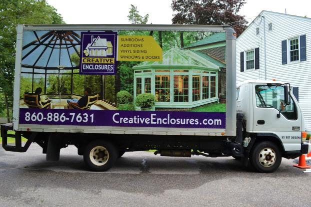 Creative Enclosures Truck