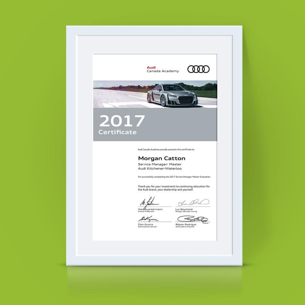 Audi Canada Academy