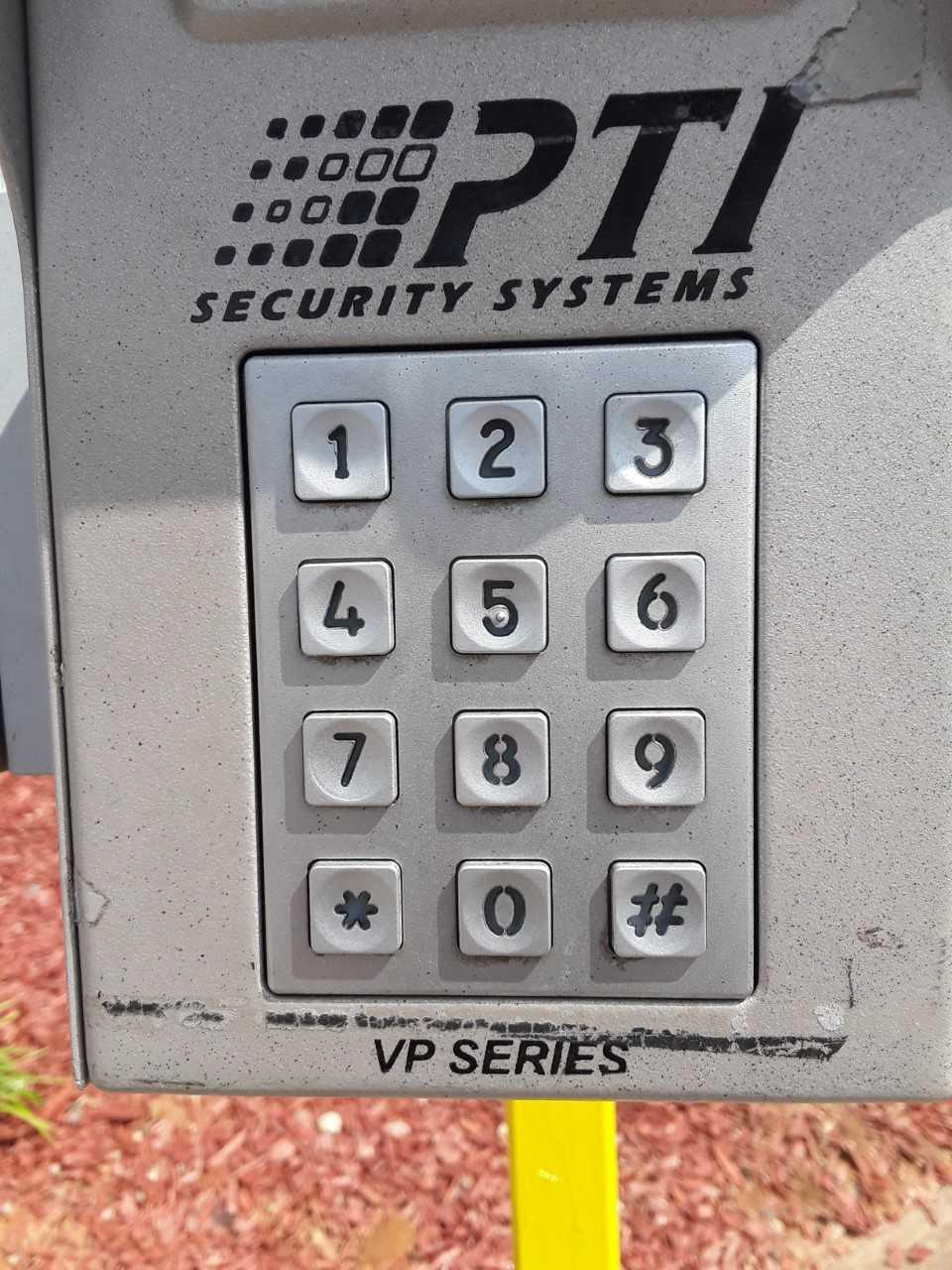 Entry Keypad