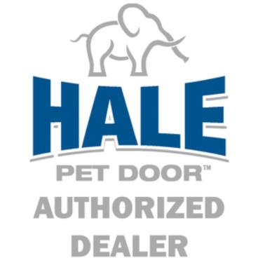 We are an Authorized Hale Pet Door Dealer and Installer
