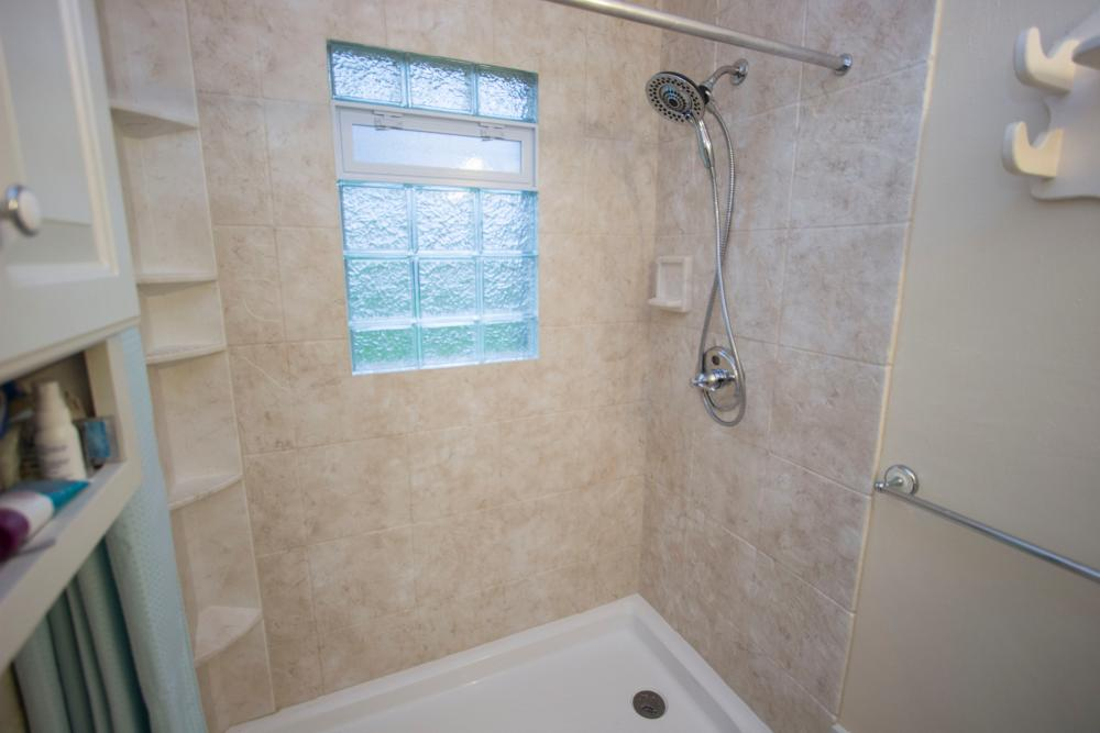 After Re-Bath of GR: Tub to Shower Conversion
