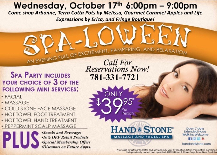SPA-LOWEEN!