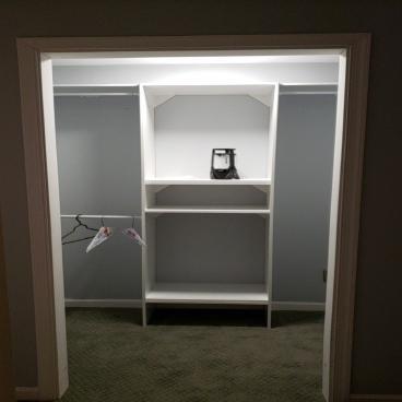 Basement Closet Remodel ~Ellicott City, MD
