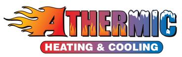 A logo for a Heating and Cooling Company