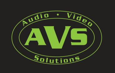 A logo for an Audio Video Company