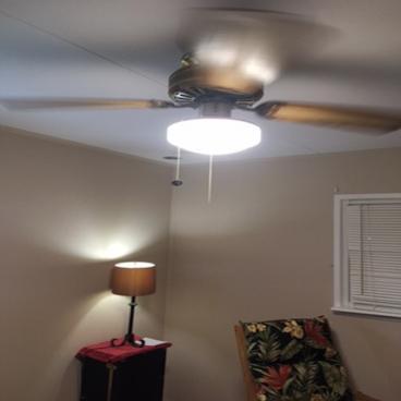 Ceiling fan installed ~ Owings Mills, MD