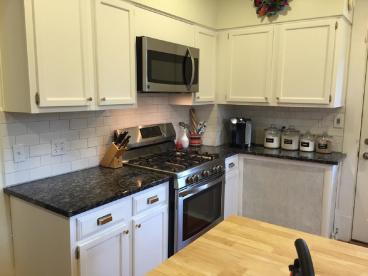 Installed Kitchen Backsplash in Westerville