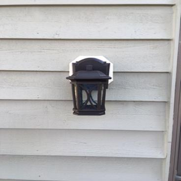 Exterior light Replaced ~ Columbia, MD