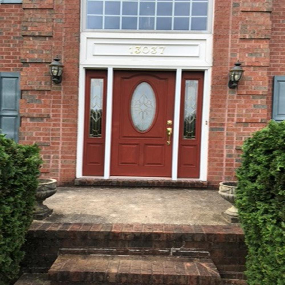 Door Trim Repair ~ Clarkesville, MD