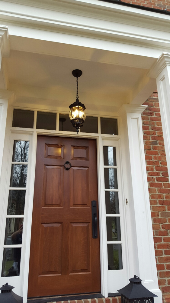 Installed Exterior Light in New Albany