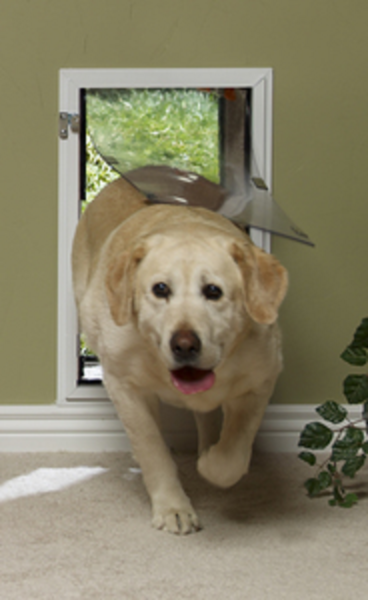 We are an authorized Hale Pet Door dealer and installer