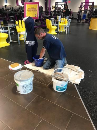 Repairing Floor Tiles in Pittston