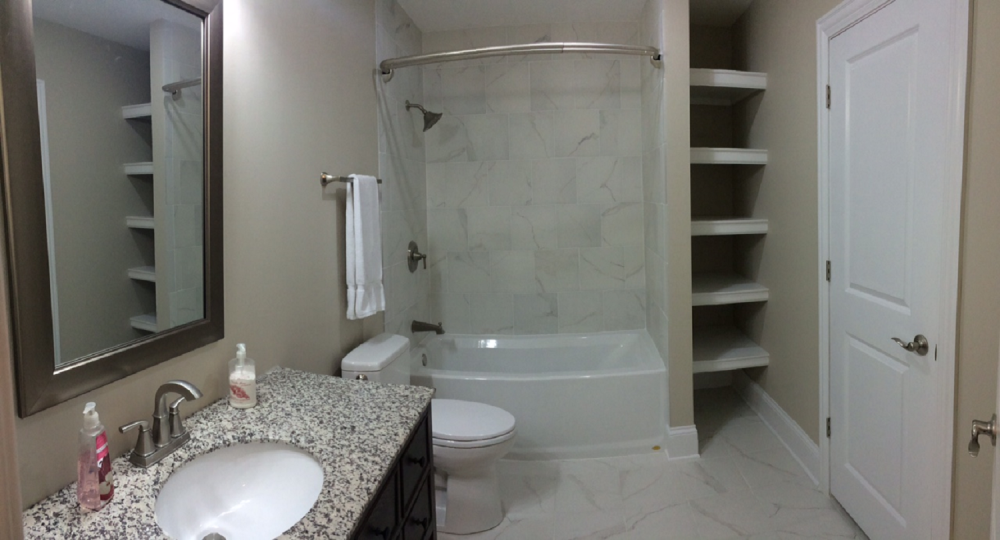 Bathroom Remodel in New Albany- After