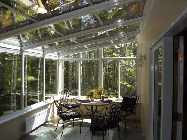 Four Seasons Sunrooms indoor view
