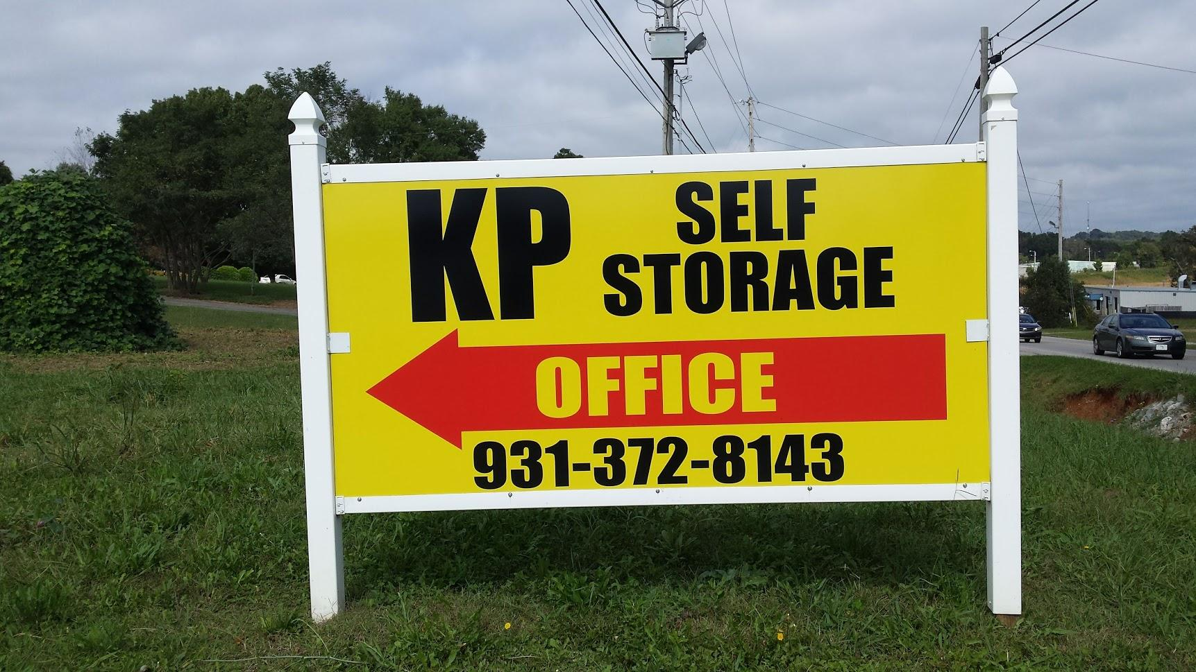 KP Self Storage New Sign