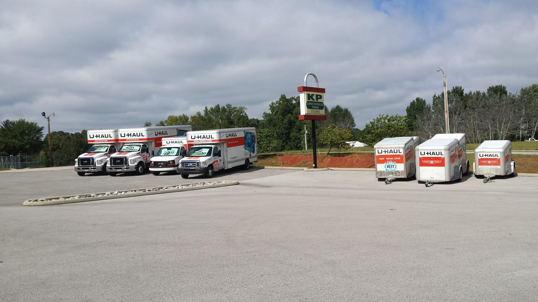 Uhaul Trucks and Trailers!