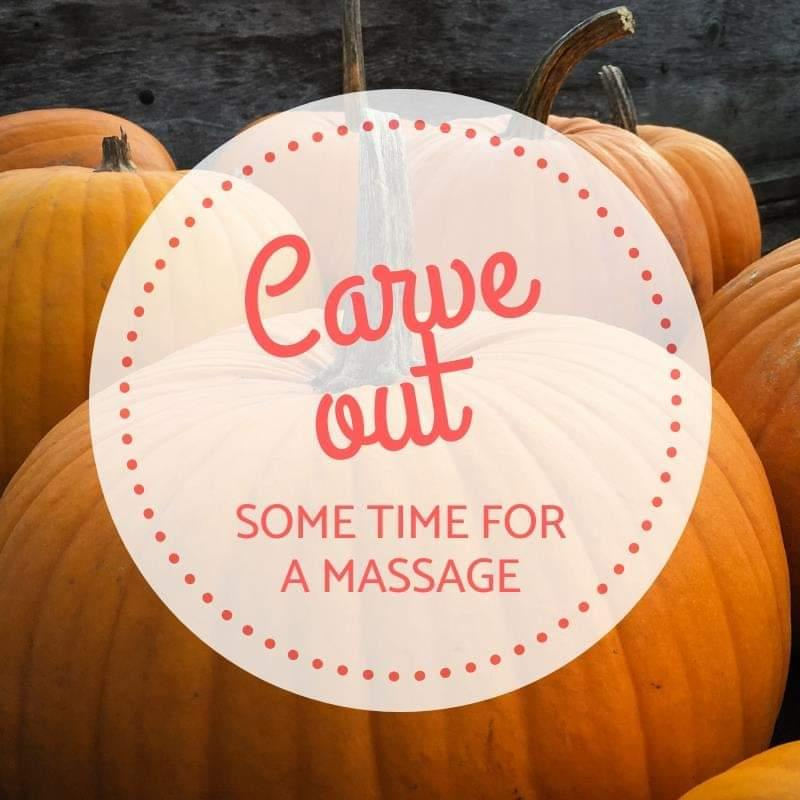 Carve out time for yourself  with a massage or facial