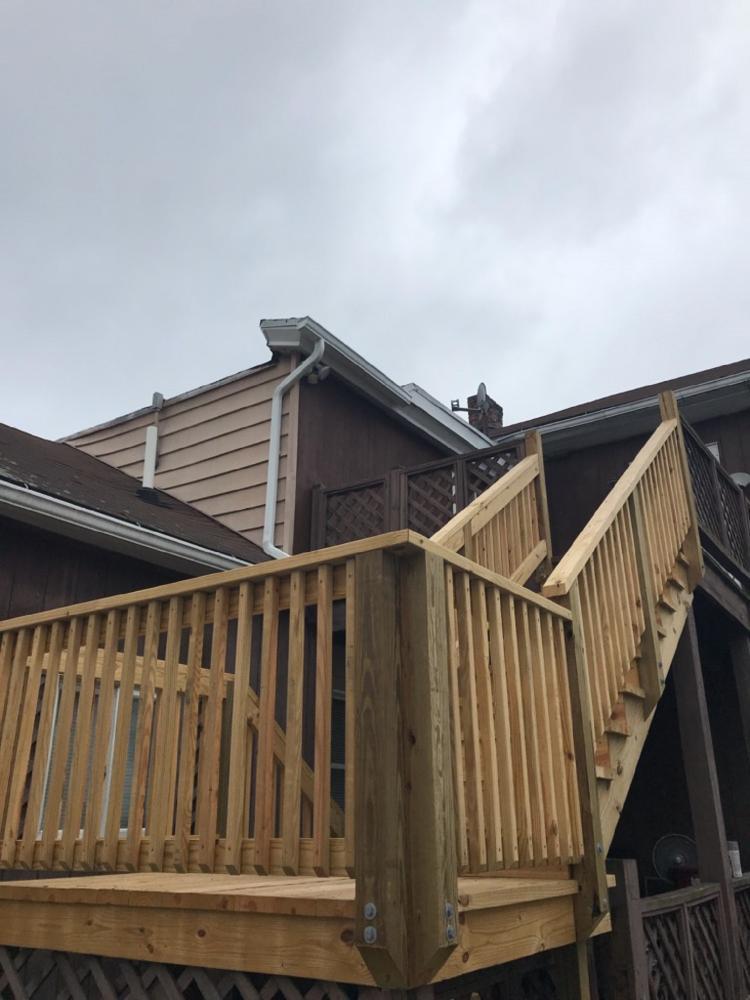 Deck Steps in Edwardsville