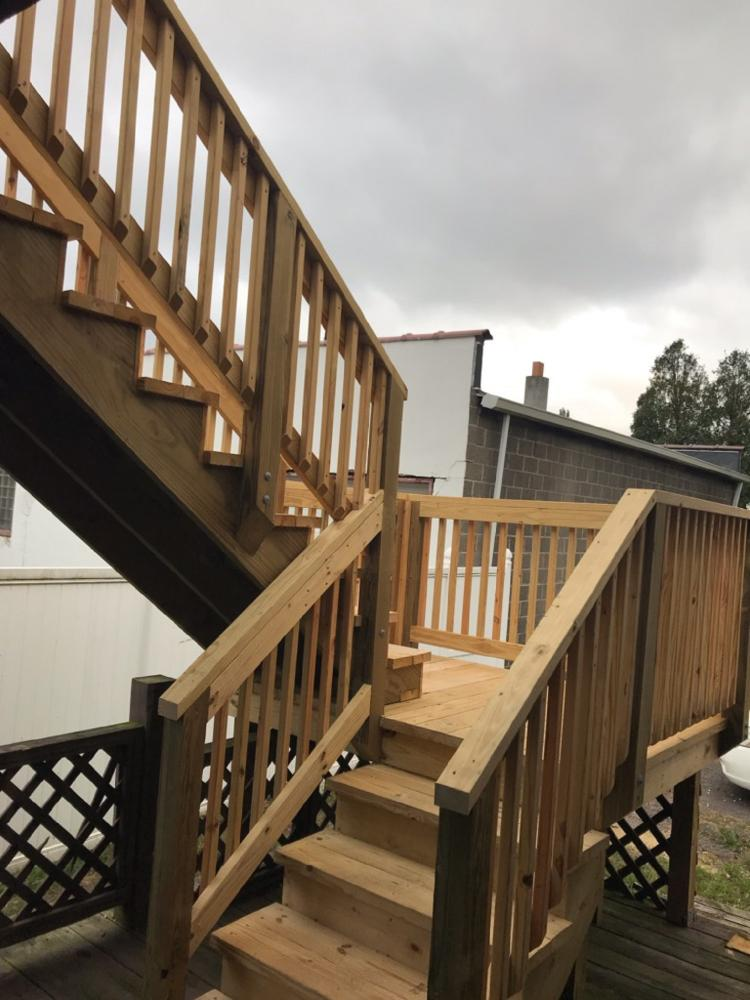 Deck Steps in Edwardsville