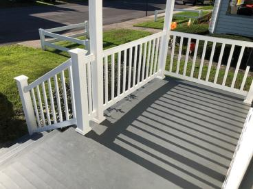 New Porch Flooring Installed in Exeter