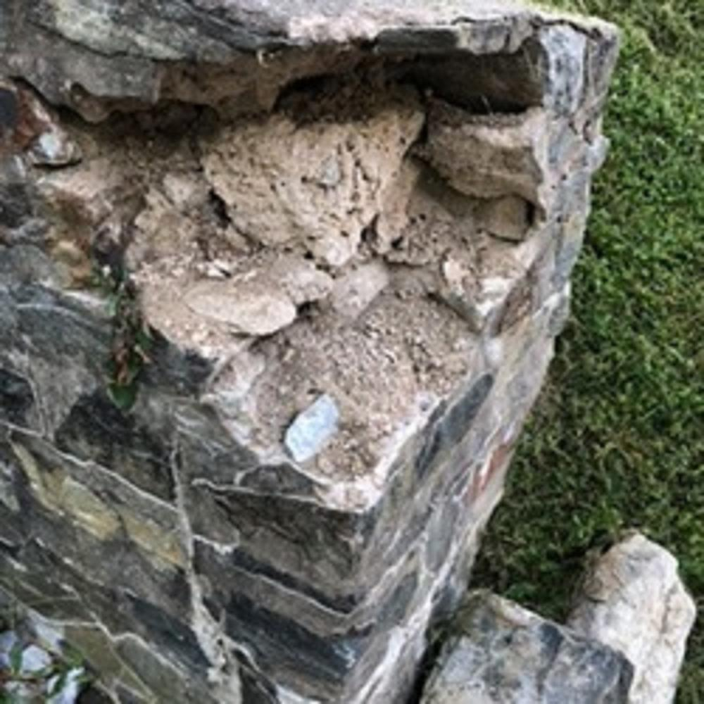 Stone Wall Repair ~ Sykesville, MD
